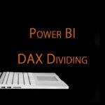 Power BIのDAX関数を使って売上高増減率を計算 Divide関数の使い方