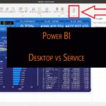 Power BI DesktopとServiceの違い
